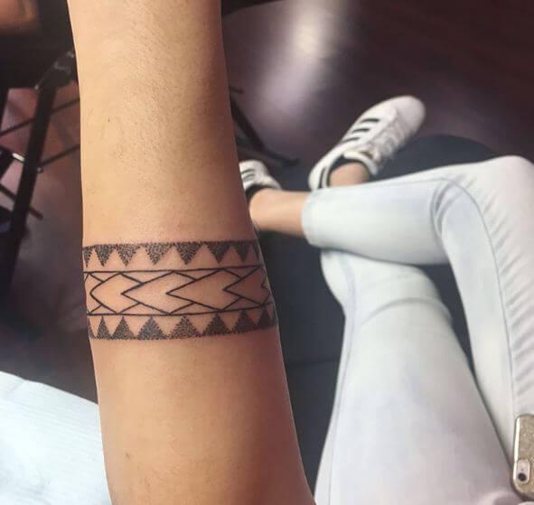 Wrap Around Maori Tattoos