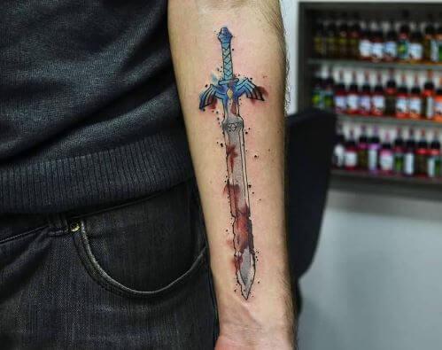 Zelda Tattoos Images