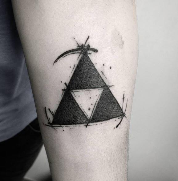 Zelda Tattoos On Forearm