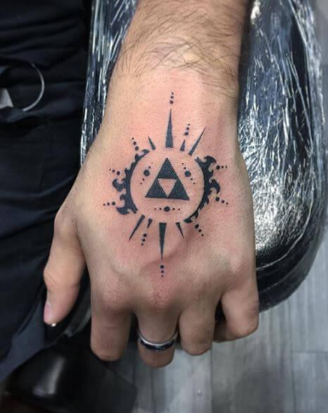 Zelda Tattoos On Hand