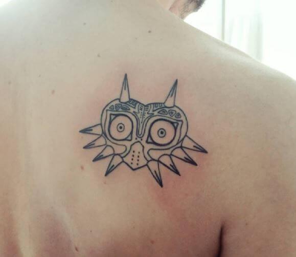 Zelda Tattoos On Shoulder Back
