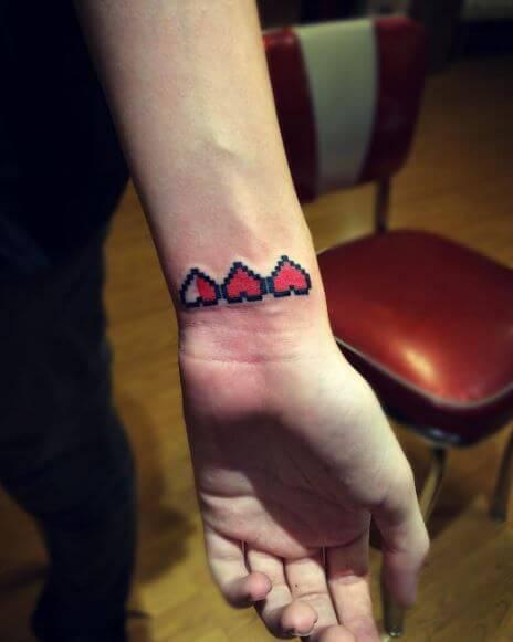 Zelda Tattoos On Wrsit