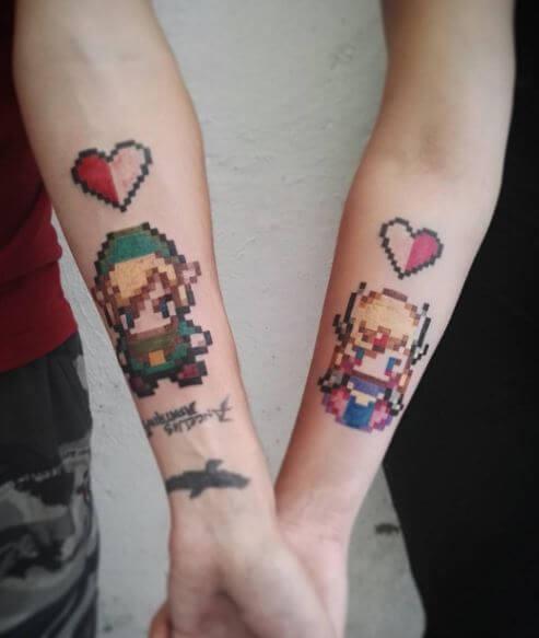 Zelda Tattoos Pics