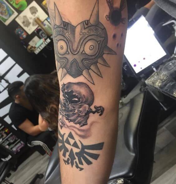 Zelda Tattoos Pinterest