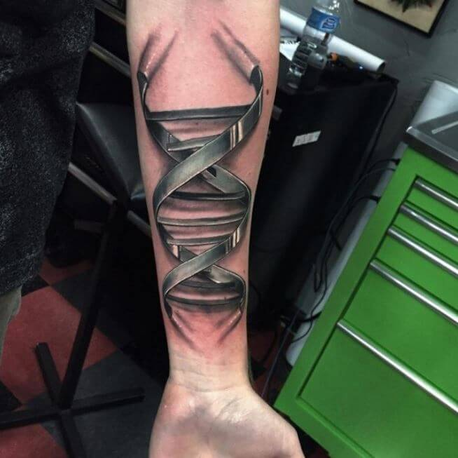 3D Forearm Tattoos Ideas