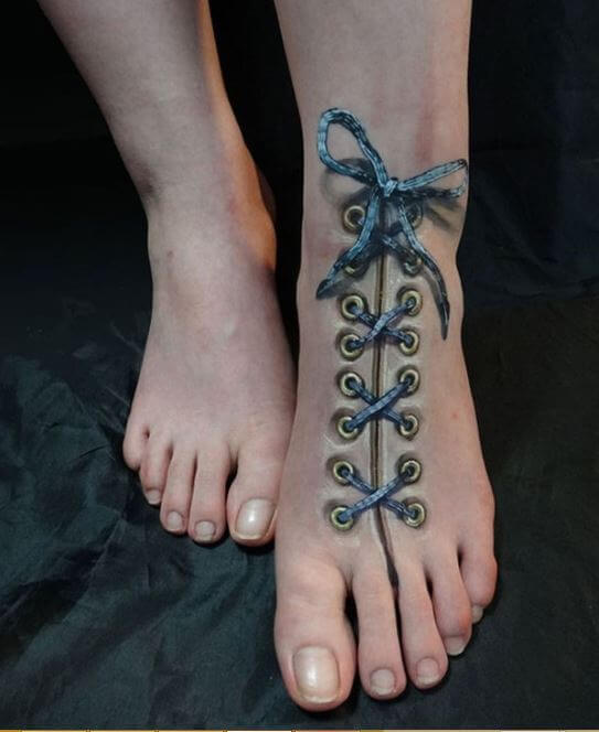 3D Tattoos Shoelace