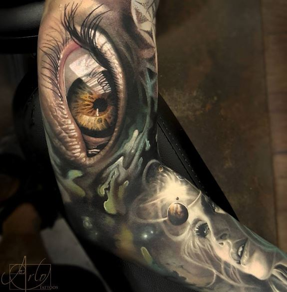 3d Art Tattoos