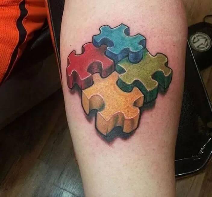 3d Autism Tattoos