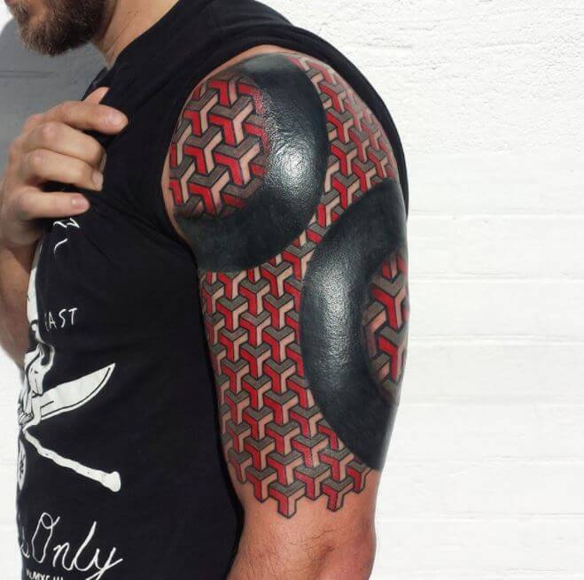 3d Geometric Tattoos