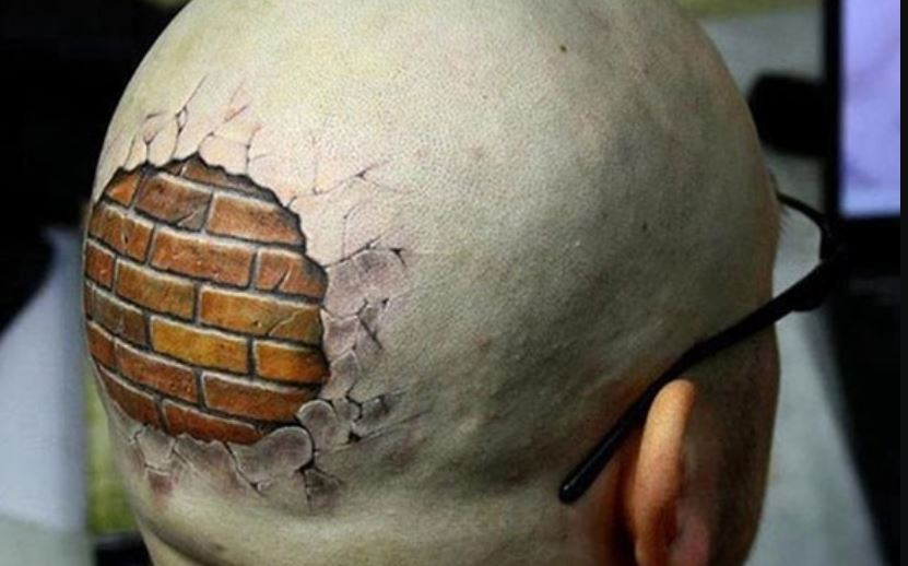 3d Head Tattoos