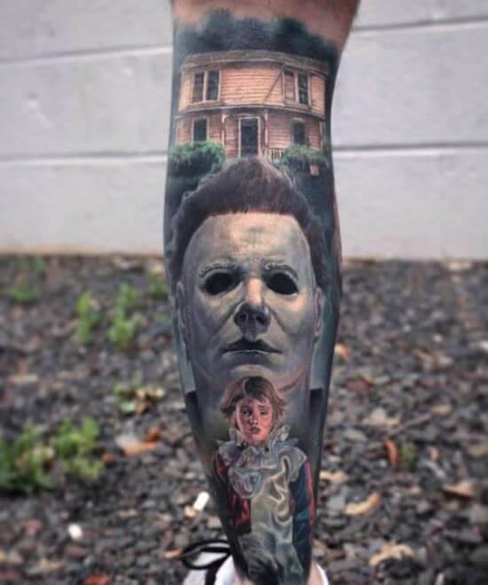 3d Leg Tattoos