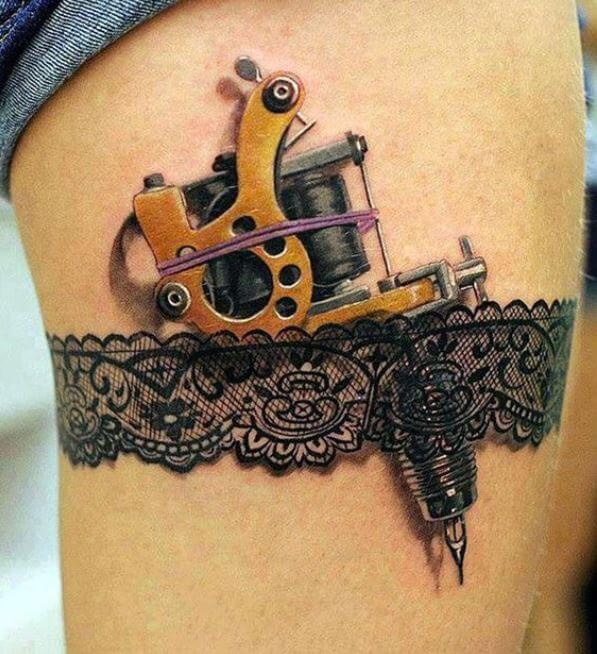 3d Machine Tattoos