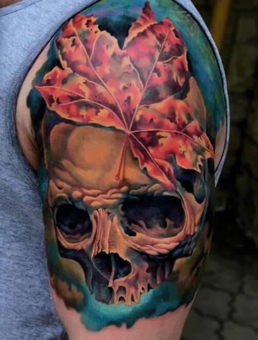 3d Skull Tattoos