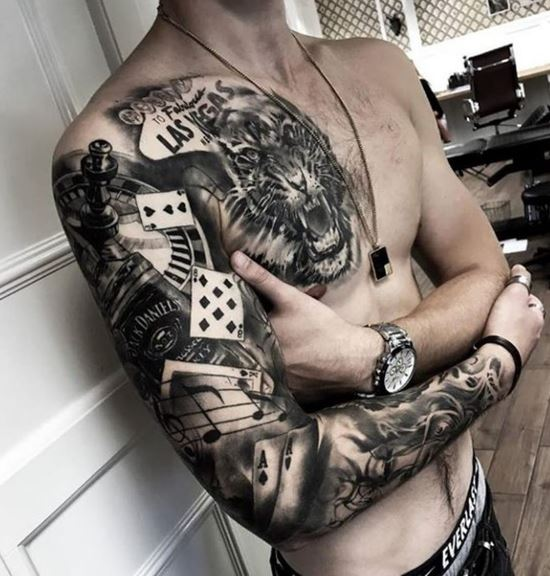 3d Sleeve Tattoos