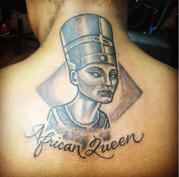 African Queen Tattoos Design And Ideas