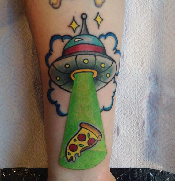 Alien UFO Tattoos Design And Ideas