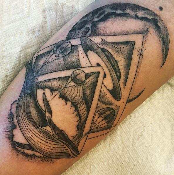 Amazing Ufo Tattoos Design And Ideas