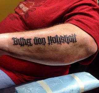 Ambigram Tattoos Design On Forearm
