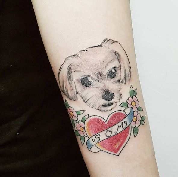 Best Dog Tattoos Design And Ideas