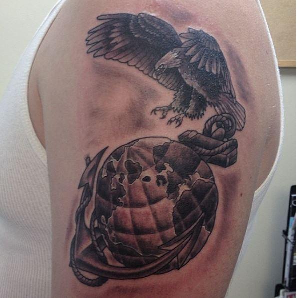 Best Marine Tattoos Design