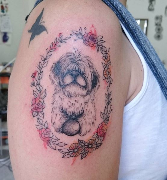 Brilliant Dog Tattoos Design And Ideas For Girls