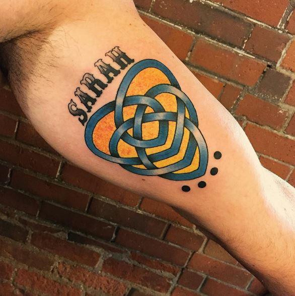 Celtic Tattoo On Arm 14