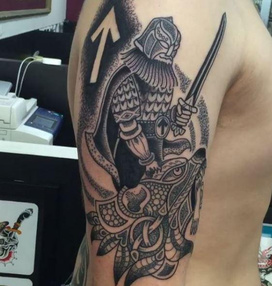 Celtic Tattoo On Arm 27