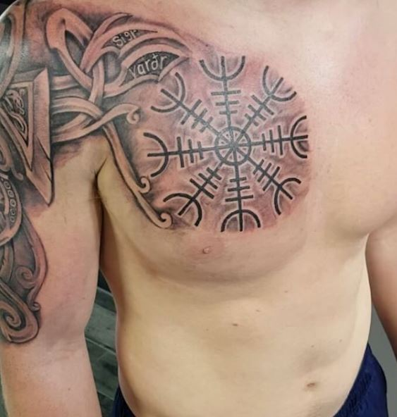 Celtic Tattoo On Chest 3