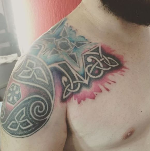 Celtic Tattoo On Shoulder