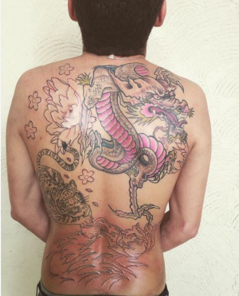 Cool Full Back Tattoos Design And Ideas