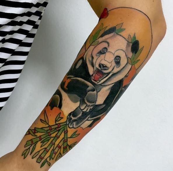 Cool Panda Tattoos Design And Ideas