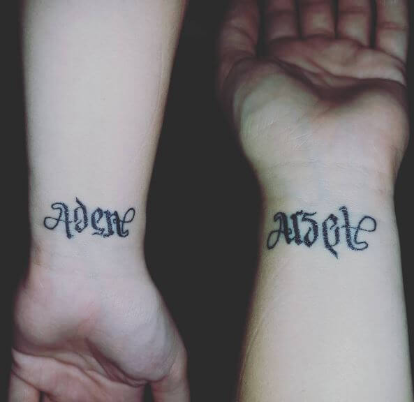 Cute Ambigram Tattoos Design And Ideas