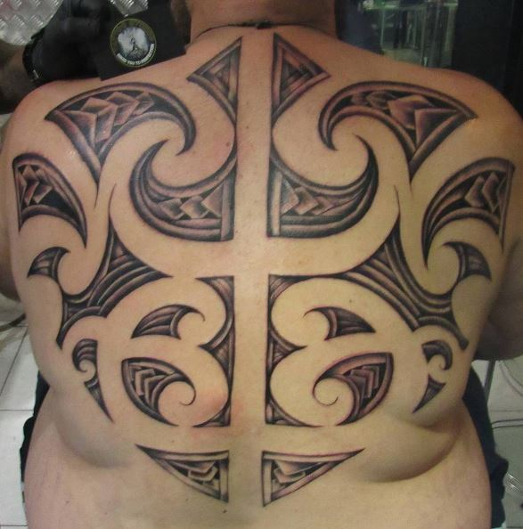 Cute Back Tattoos Design And Ideas For Man