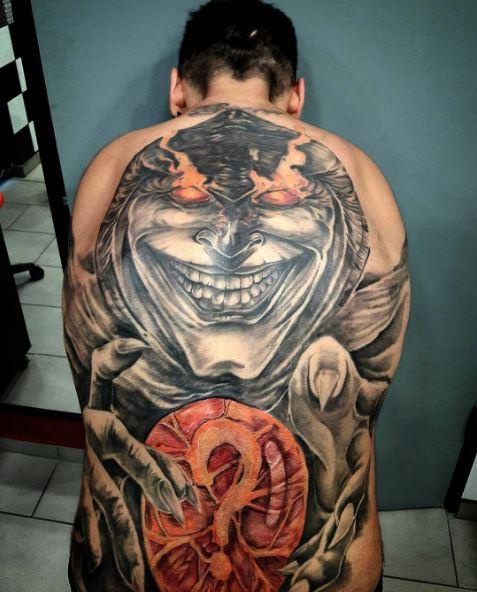 Devil Full Back Tattoos Design And Ideas For Men