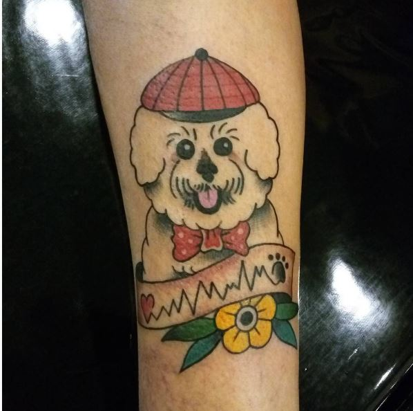 Dog Tattoo Designs Pictures