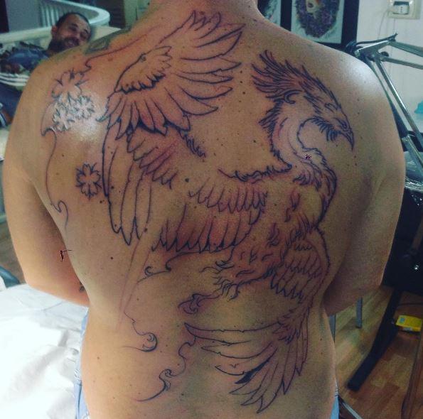 Easy Lining Phoenix Tattoos Design And Ideas