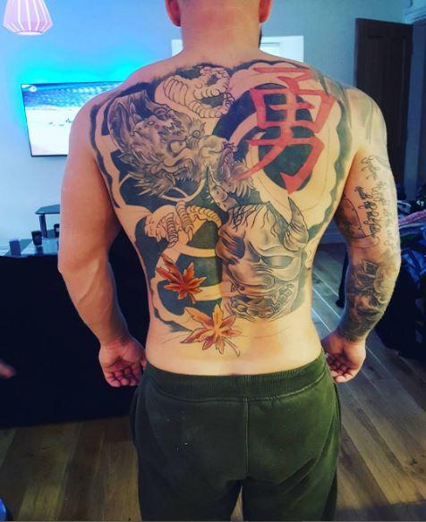 Full Back Tattoo Ideas For Male