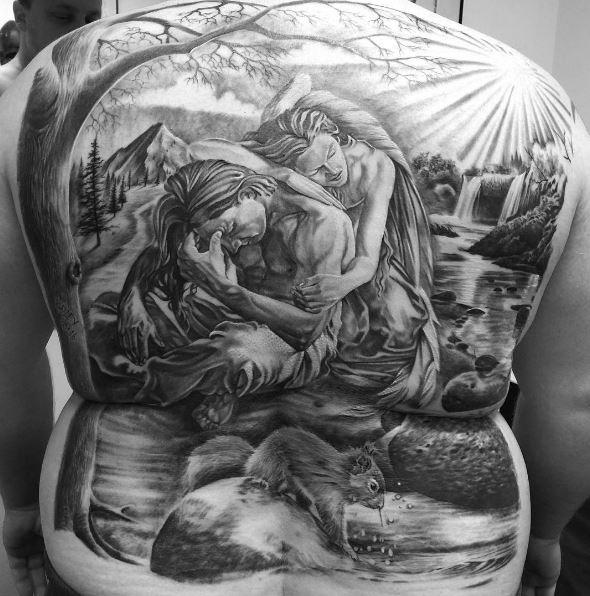 Full Back Tattoo Japanese