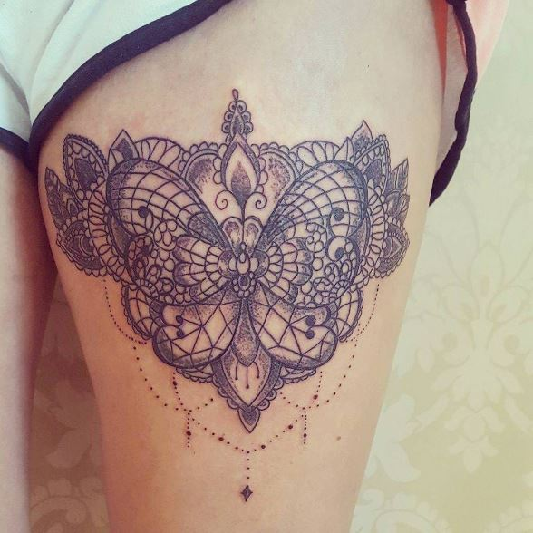 Gorgeous Garter Tattoos