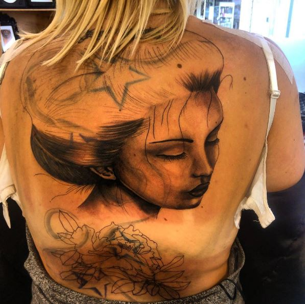 Incredible Full Back Tattoos Design And Ideas
