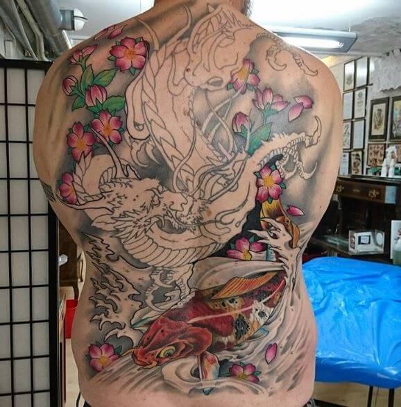 Koi Fish Tattoo On Arm 9