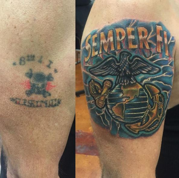 Latest Marine Corps Tattoos Design And Ideas