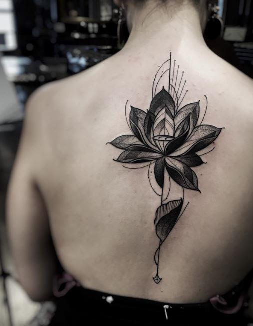 Lotus Spine Tattoos On Pinterest