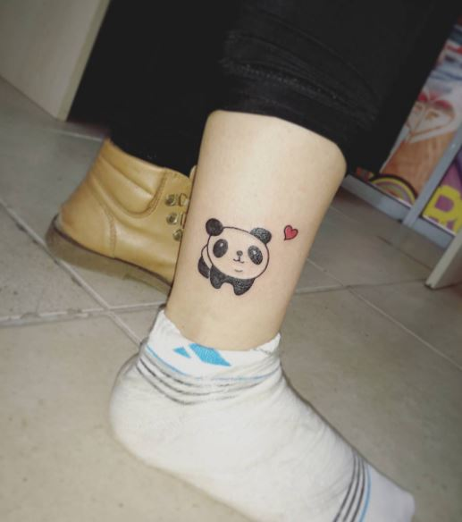 Lovely Panda Tattoos Design And Ideas