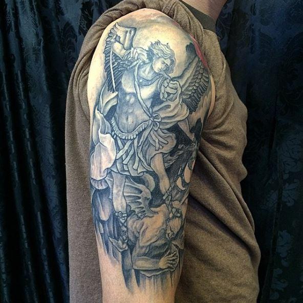 Marine Corps Tattoos Pics
