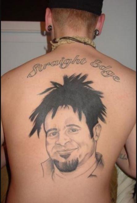 Men Face Bad Tattoos Design