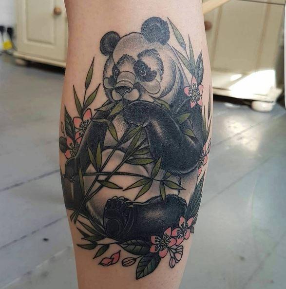 New Panda Tattoos Design And Ideas