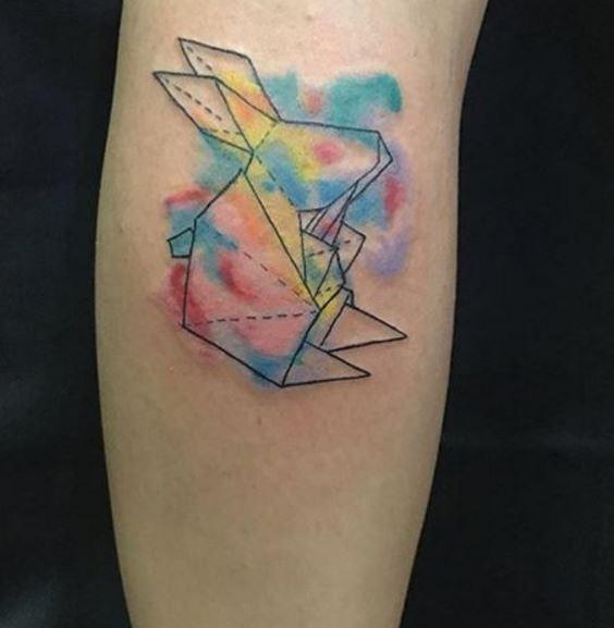 Origami Tattoo 10