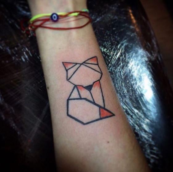 Origami Tattoo 14
