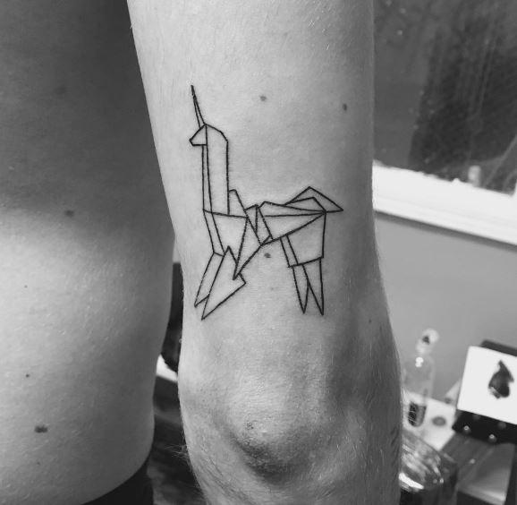 Origami Tattoo 18